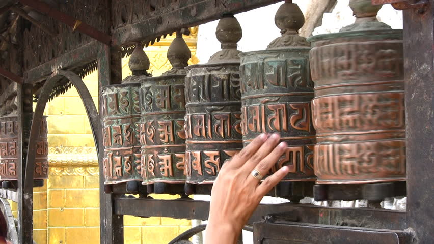 lyndon farrington Tibetan SPINNING WHEELS